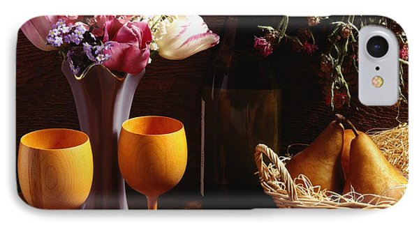 A Floral Display Phone Case by David Chapman