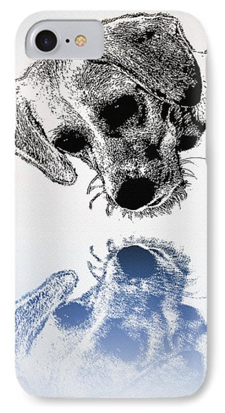 A Friendly Reflection Phone Case by Bill Cannon