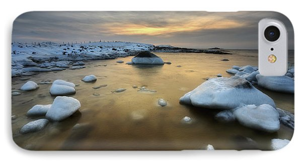 A Frozen, Rusty Bay On Andoya Island Phone Case by Arild Heitmann