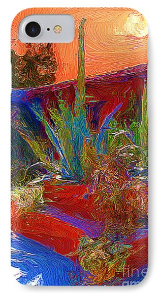 IPhone Case featuring the photograph A Garden In Pozos by John  Kolenberg