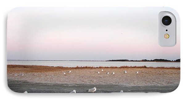 IPhone Case featuring the photograph A Gathering On Rehoboth Bay by Pamela Hyde Wilson