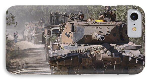 A German Designed Leopard As1 Gun Tank Phone Case by Stocktrek Images