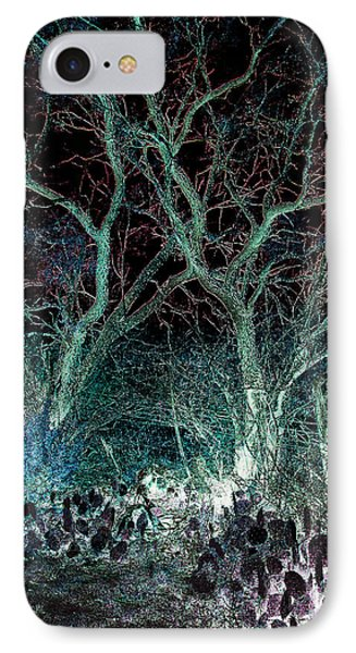 A Ghost Story Told On March Road IPhone Case by Louis Nugent