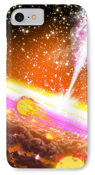 A Giant Black Hole At The Center IPhone Case
