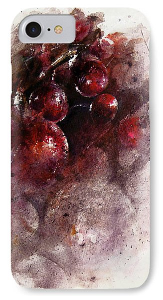 A Grape Mystery Phone Case by Rachel Christine Nowicki