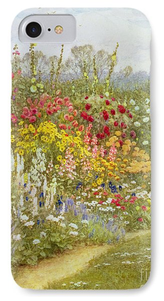 A Herbaceous Border IPhone Case