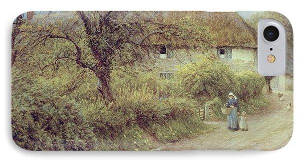 A Hill Farm Symondsbury Dorset IPhone Case