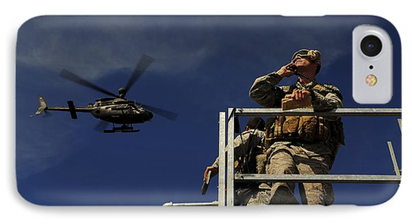 A Joint Terminal Attack Controller Phone Case by Stocktrek Images