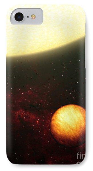 A Jupiter-like Planet Soaking Phone Case by Stocktrek Images