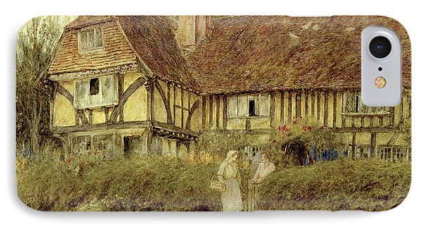A Kentish Cottage Phone Case by Helen Allingham