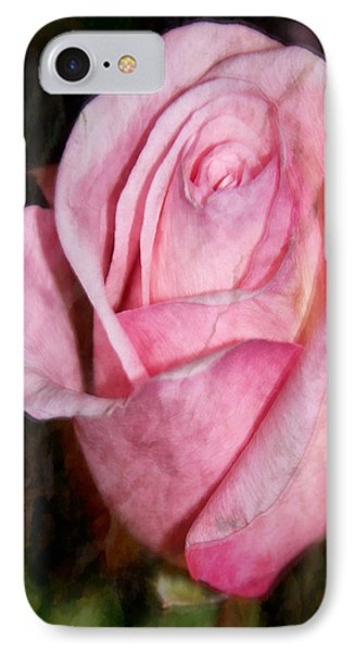 A Kiss By A Rose IPhone Case by Angelina Vick