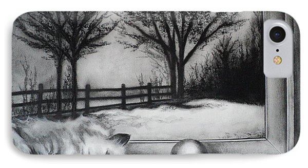 A Lazy Winter Day IPhone Case