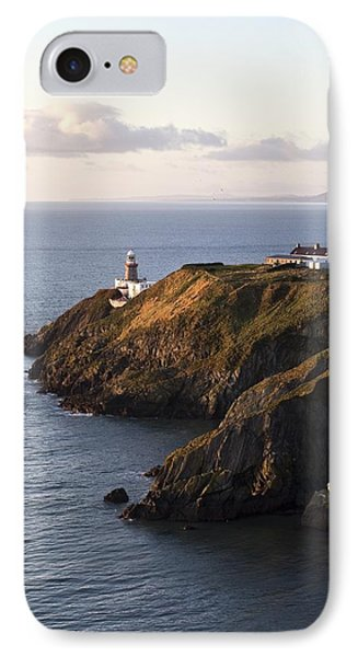 A Lighthouse On A Hill Ireland IPhone Case by Peter McCabe