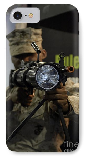 A Marine Tests The Night Hunter II Phone Case by Stocktrek Images