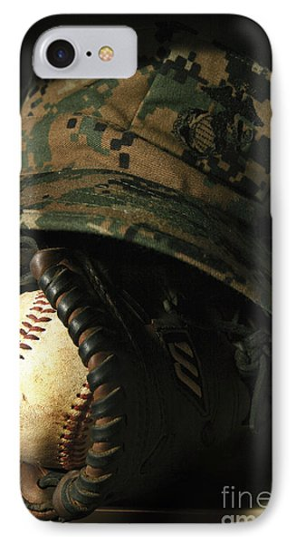 A Marines Athletic Gear Phone Case by Stocktrek Images