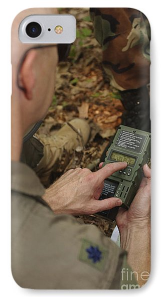 A Member Of The 130th Airlift Wing Phone Case by Stocktrek Images