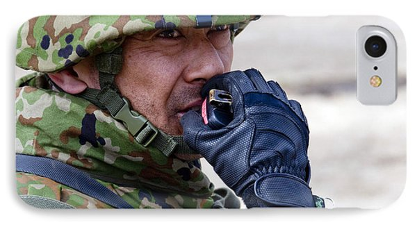 A Member Of The Japan Ground Phone Case by Stocktrek Images