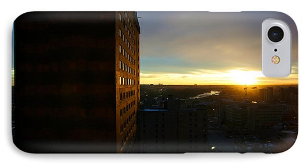 A New Day Begins Calgary Alberta IPhone Case by JM Photography