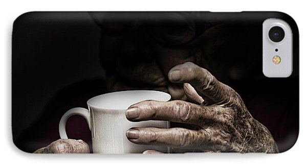 A Nice Cup Of Tea Phone Case by Avalon Fine Art Photography