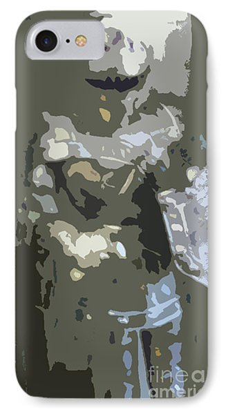 A Nightly Knight Phone Case by Karen Francis