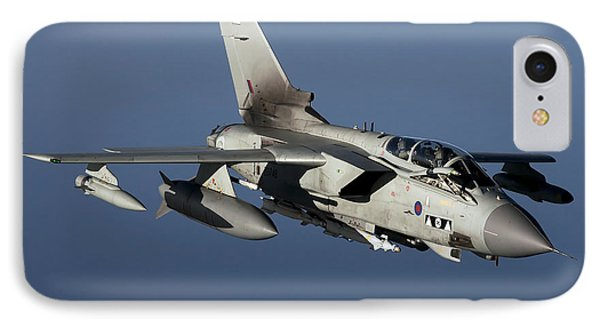 A Panavia Tornado Gr4 Of The Royal Air Phone Case by Gert Kromhout