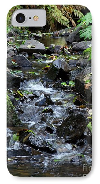 IPhone Case featuring the photograph A Peaceful Stream by Chalet Roome-Rigdon