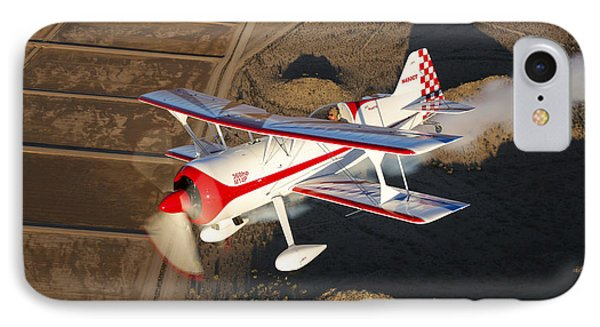 A Pitts Model 12 Aircraft In Flight Phone Case by Scott Germain