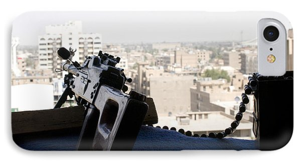 A Pk 7.62mm Machine Gun Nest On Top Phone Case by Terry Moore