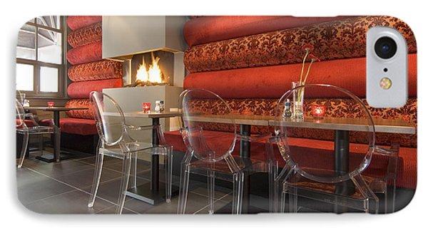 A Restaurant Interior.  Tables IPhone Case
