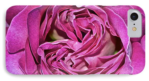 A Rose Is A Rose ... Phone Case by Gwyn Newcombe