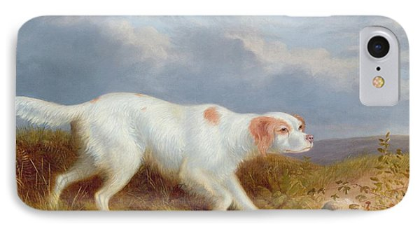 A Setter On The Moor IPhone Case