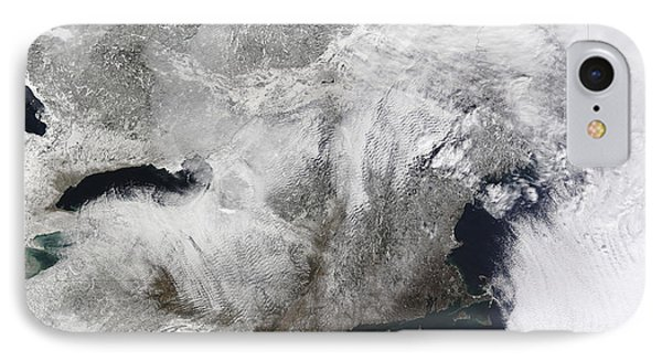 A Severe Winter Storm Phone Case by Stocktrek Images