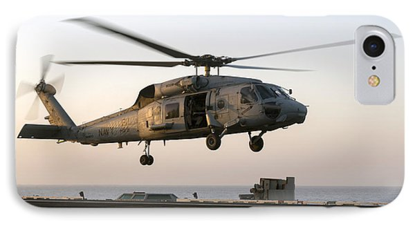 A Sikorsky Sh-60f Seahawk Lands IPhone Case