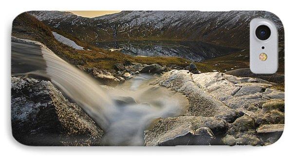 A Small Creek Running IPhone Case by Arild Heitmann
