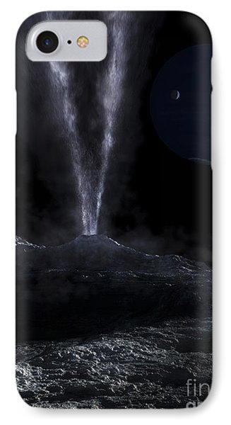 A Small Geyser On The Surface Phone Case by Fahad Sulehria