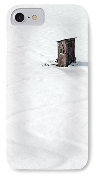 IPhone Case featuring the photograph A Snowy Path by Karen Lee Ensley