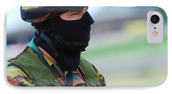 A Soldier Of The Special Forces Group Phone Case by Luc De Jaeger