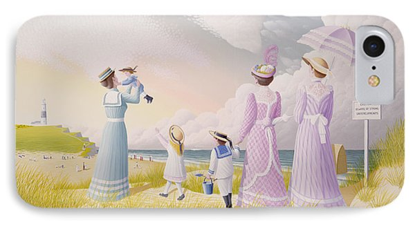 A Stroll On The Dunes Phone Case by Peter Szumowski