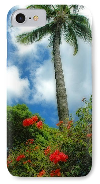 A Touch Of The Tropics Phone Case by Lynn Bauer
