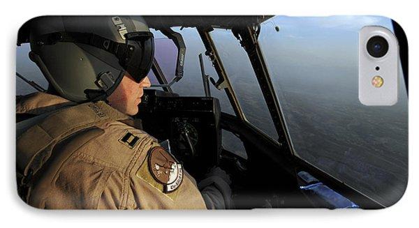 A U.s. Air Force C-130j Hercules Pilot Phone Case by Stocktrek Images