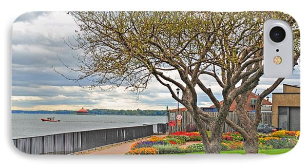 IPhone Case featuring the photograph A View From The Garden by Michael Frank Jr