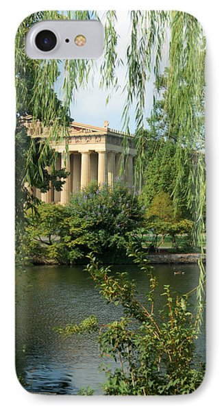 A View Of The Parthenon 1 Phone Case by Douglas Barnett