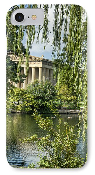 A View Of The Parthenon 10 IPhone Case