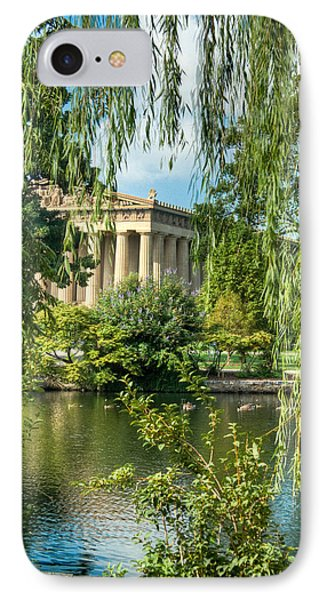 A View Of The Parthenon 11 Phone Case by Douglas Barnett