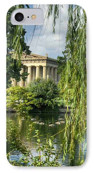 A View Of The Parthenon 16 IPhone Case