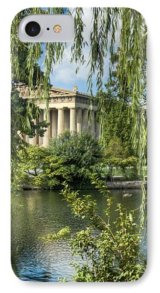 A View Of The Parthenon 5 IPhone Case