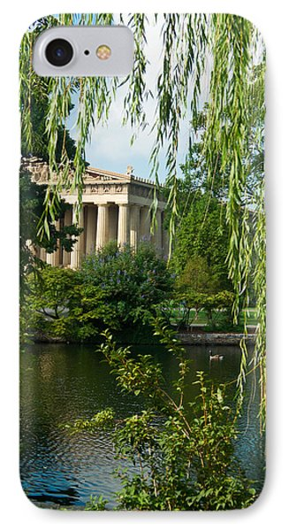 A View Of The Parthenon 7 IPhone Case by Douglas Barnett