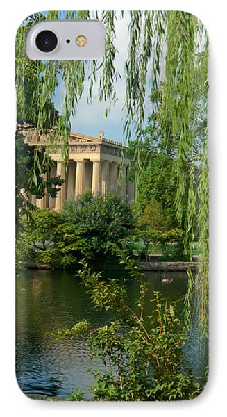 A View Of The Parthenon 8 Phone Case by Douglas Barnett