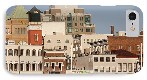 A View Of The Skyline Of Victoria Phone Case by Taylor S. Kennedy