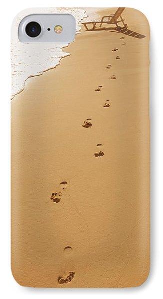 A Walk On The Beach Phone Case by Don Hammond